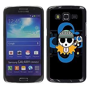 Exotic-Star ( Cute Gangsta Sign ) Fundas Cover Cubre Hard Case Cover para Samsung Galaxy Grand 2 II / SM-G7102 / SM-G7105