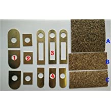 Mosin Nagant Accurizing Kit Laser Cut shims and Cork Rubber gaskets