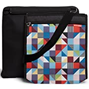 Skip Hop Central Park Outdoor Blanket & Cooler Bag, Prism, Multi