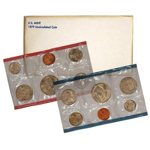 1979 US Mint Uncirculated Coin Set OGP