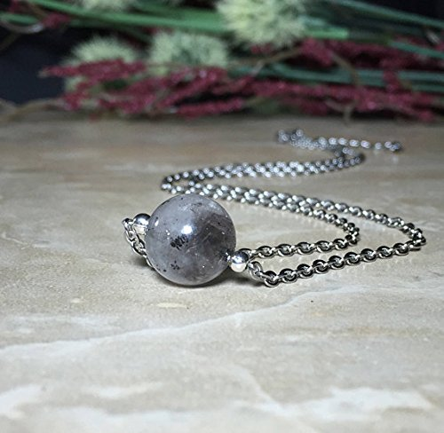 12mm Himalayan Energy Quartz Necklace, Himalayan Energy Quartz, Himalayan Energy Quartz Choker, Dreams and astral projection, Meditation (Astral Projection Jewelry)