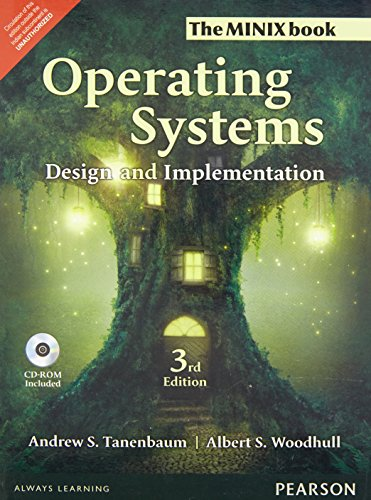 Operating Systems Design and Implementat: Design and Implementation by Pearson India
