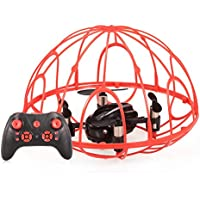 Goolsky Z2 2.4G 4CH 6-Axis Gyro Full Protective RC Quadcopter One-key Return Drone