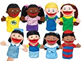Lakeshore Let's Talk! Kid Puppets - Set of 8