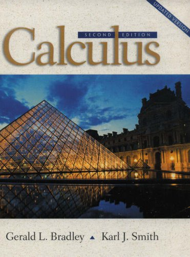 Calculus (2nd Edition) (Calculus 2nd Edition)