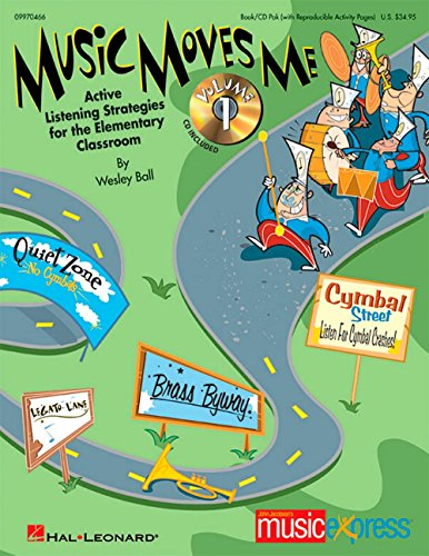 (Hal Leonard Music Moves Me - Active Listening Strategies for the Classroom Book/CD)