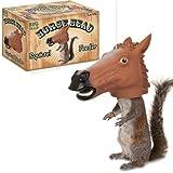 Accoutrements Horse Head Squirrel Feeder