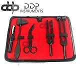 DDP All Black Reflex Percussion Taylor Hammer Penlight Tuning Fork Bandage Scissors