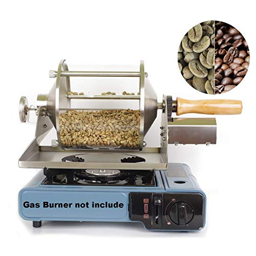 Coffee Bean Roaster Gas Coffee Roasting Machine for Home or