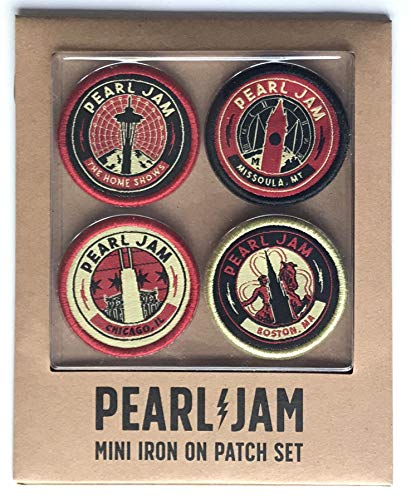 - Pearl Jam 2018 patch set seattle chicago boston the home shows montana