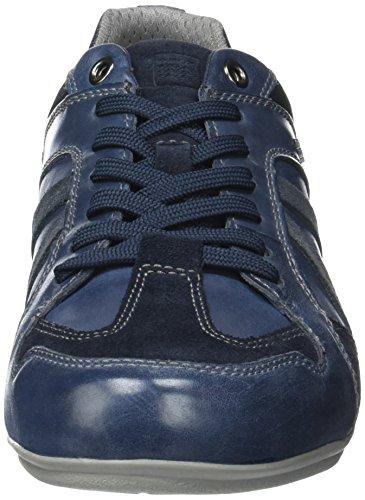 GeoxU Houston A - Zapatillas Hombre Azul (Dk Royal/Avioc4R4B)