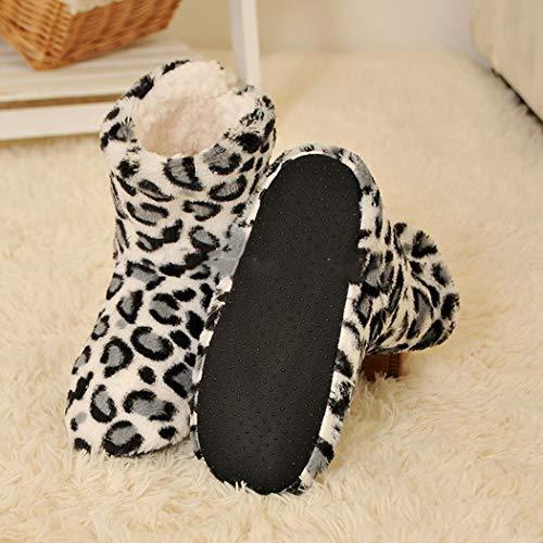 Ricordo Foam Infradito Lovers Indoor Pantofole Primavera Pecora Donna Da Cotone Caldo Nero Scarpe qwPXtxI