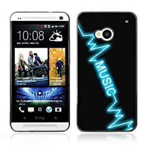 Designer Depo Hard Protection Case for HTC One M7 / Music