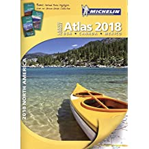 Michelin North America Large Format Atlas 2018