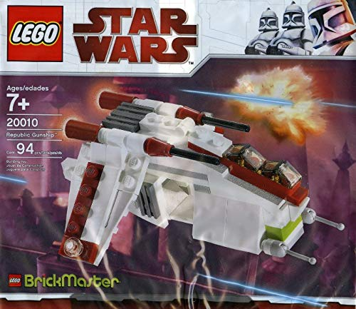 LEGO Star Wars BrickMaster Exclusive Mini Building Set #20010 Republic Attack Gunship [Bagged]