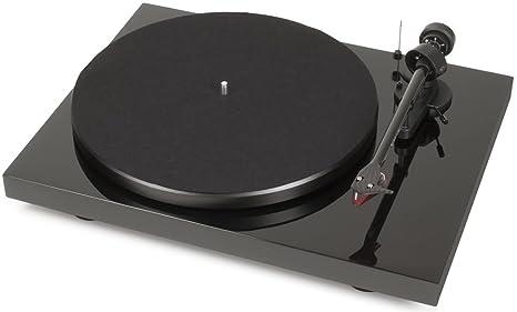 Pro Ject Debut Carbon >> Amazon Com Pro Ject Debut Carbon Dc Piano Black Home Audio