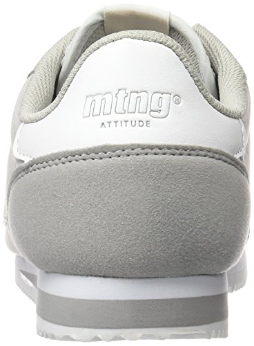 MTNG Attitude Chapo, Zapatillas de Deporte para Hombre Gris (RASPE Grisnylon Gris)