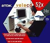 TDK Media veloCD 52x24x48 Internal EIDE CD-RW Drive