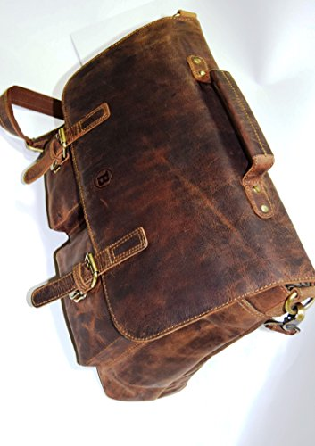 HOLIDAY DEALS SALE TONY'S BAGS - 15 inch Laptop bag - College Bag, Office Bag, Business Bag Briefcase in Vintage Style by Tony bags (Image #3)