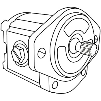 Amazon Com 6669385 New Hydraulic Single Gear Pump Made To Fit