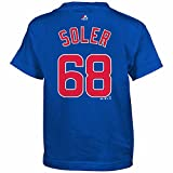 Jorge Soler Chicago Cubs #68 MLB Kids Sizes 4-7 Name & Number Player T-shirt (Kids Small 4)
