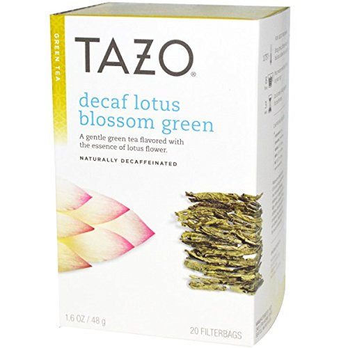 Tazo Decaf Lotus Blossom Green product image