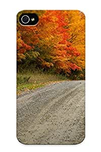 Hot New Trees Nature Autumn Fall Case Cover For Iphone 4/4s With Perfect Design
