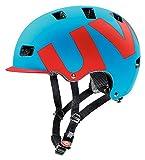 2015 Uvex Unisex Hlmt 5 Pro Helmet Cyan Red Matte Small/Medium 55-58cm