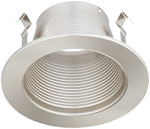 Ic Stepped Baffle Trim (WAC Lighting R-420-BN R400 Series Trim Step Baffle)