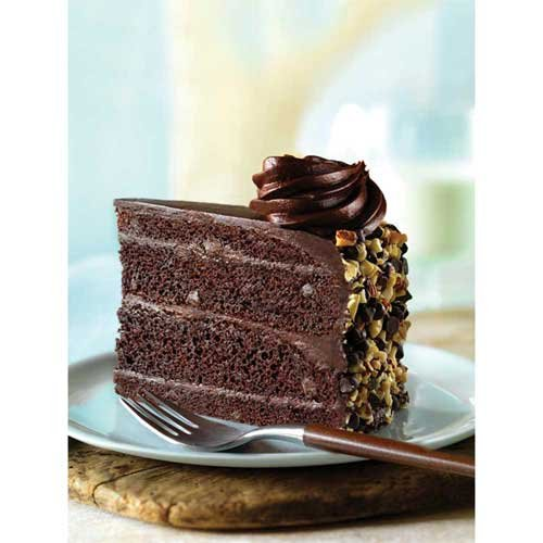 The Dream Factory Chocolate 10 Inch Blackout Cake, 105 Ounce -- 2 per case. by Cheese Cake Factory