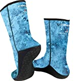 Cressi Blue Hunter Socks, Blue Hunter, Size 5/X-Large