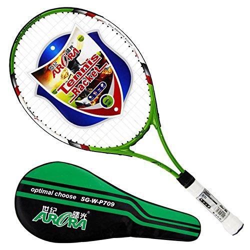 BININBOX New 1 PCS High Strength Aluminium Alloy Tennis Racquet Racket Bag ()