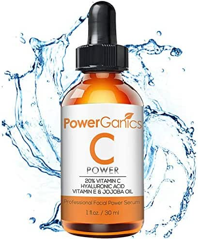 Vitamin C Serum For Face - with Hyaluronic Acid, Vitamin E, Natural Skin Firming Face Moisturizer – Target Wrinkles, Boosts Collagen