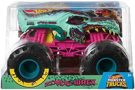 Hot Wheels Monster Trucks 1:24 Zombie-wrex Vehicle