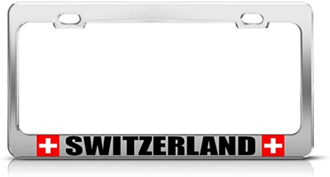 I/'M PROUD TO BE A THAI THAILAND License Plate Frame Tag Holder
