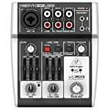 Behringer Xenyx 302USB Premium 5-Input Mixer with Mic Preamp and USB/Audio Interface