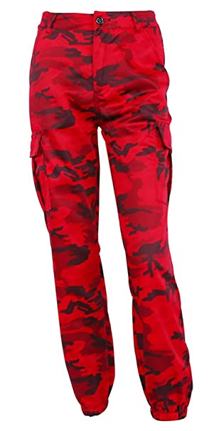 variety design modern design great fit LifeShe Women's Camo High Waist Cargo Joggers Pants