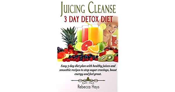 Juicing Cleanse 3 Day Detox Diet: Easy 3 Day Diet Plan with
