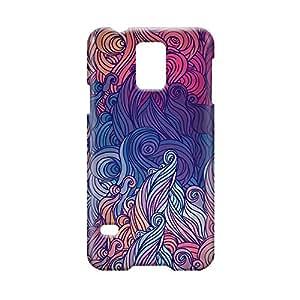 Hairs Samsung S5 3D wrap around Case - Design 4