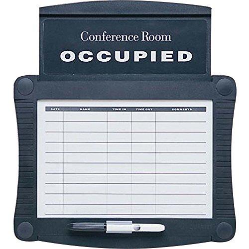 SIGN,SCHEDULE,CONF Quartet Conference Room Scheduler Sign