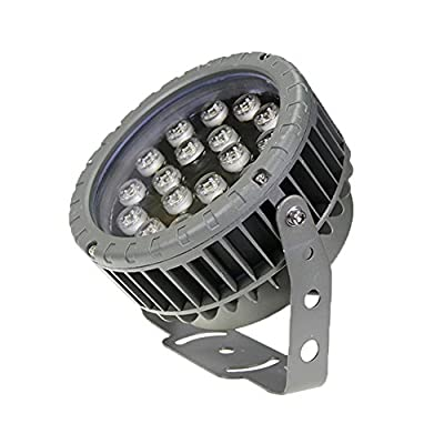 Julitech 3W-36W LED Flood Light, Waterproof IP65, 3500Lm, Super Bright Outdoor LED Flood Lights For Playground, Garage, Garden, Lawn And Yard Model