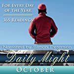Daily Might: October: A Reading for Each Day in October | Simon Peterson