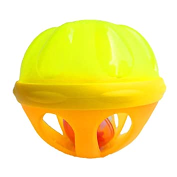 Footprintes Baby Bath Ball Sonajero Juguete Divertido Baño Juguete Flotador de Agua Bola Clásico Piscina Juguete de Agua Infantil Desarrollo Educativo: ...