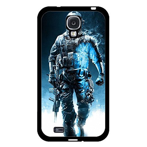 Cool Strong Soldiers 3D PC Game Battlefield Phone Case Cover for Samsung Galaxy S4 I9500 Battlefield 4 Trend