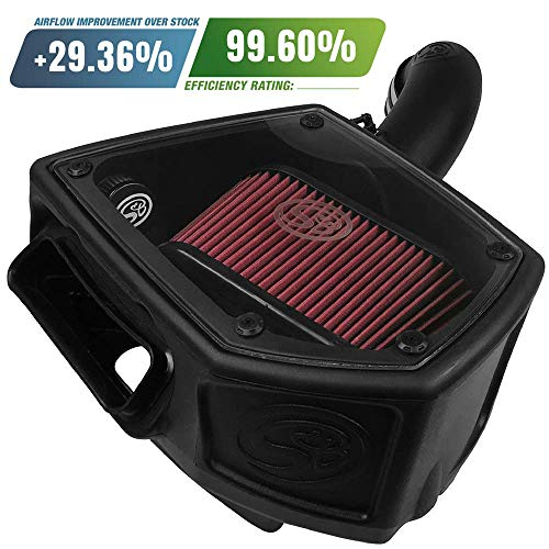S&B Filters 75-5107 Cold Air Intake For 2015-2017 VW/AUDI 1.8T / 2.0T (Oiled Cleanable, 8-ply Cotton Filter) (Best Mk5 Gti Exhaust)