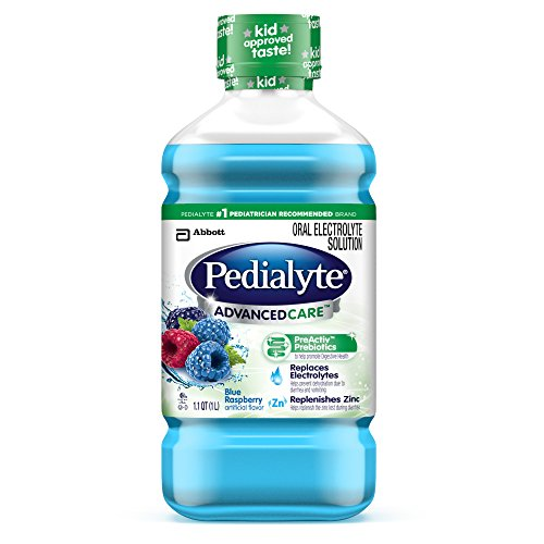 Pedialyte Advanced Care Plus Electrolyte Solution, 33.79 ...