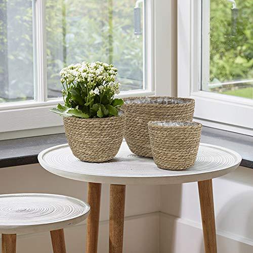 Seagrass planter basket