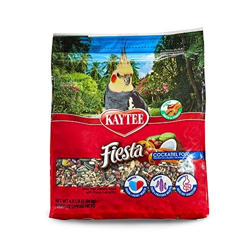 (Kaytee Fiesta Cockatiel Food, 4.5 Ib)