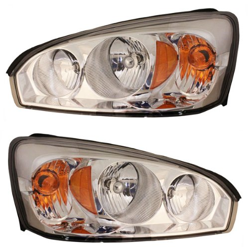 Koolzap For 04-08 Malibu Maxx Headlight Headlamp Head Light Lamp Left & Right Side Set PAIR