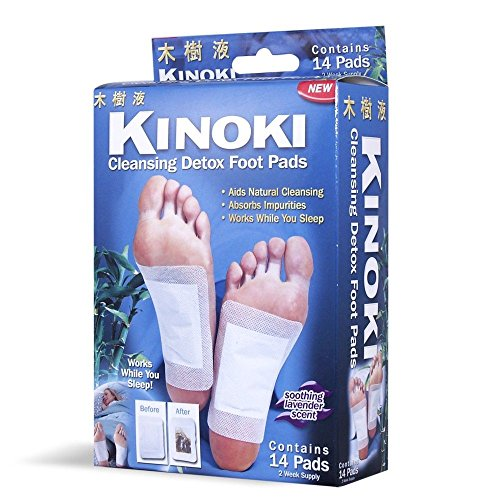 Kinoki Detox Foot Pads - 30 Kinoki Foot Patches, 30 Pads and Patches